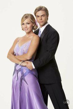 DWTS Season 5 Fall 2007 Jennie Garth and Derek Hough Placed 4th