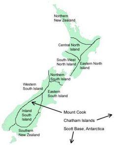 Regions of NZ