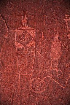 Petroglyphs, Escalante River, Utah - photographer Sam Cox