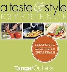 Tanger Outlets Charleston Taste & Style event April 13 & 14