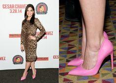 America Ferrera Divine In Dolce & Gabana and Rupert Sanderson at 'Cesar Chavez'  New York Premiere