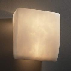 Ada Square 1000 Lumen LED Wall Sconce Justice Design Group Flush To Wall Wall Sconces Wall