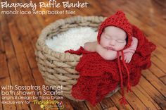 baby boy photography props | Baby GIrl Christmas Hat Baby Boy Newborn Photo Prop Handknit Bonnet in ...
