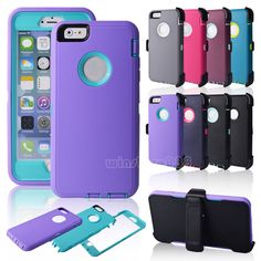 Blue/Green IPhone 6 plus Defender series OtterBox I want for future phone!!!