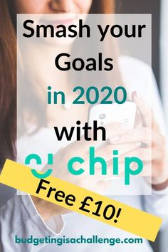 AD: Start 2020 with a bang by getting a free £10 with Chip app.   Stash your cash without resorting to manual methods, using AI  Are you not a manual budgeter? Does it bore you thinking about writing down your goals for setting money aside? Read about Chip app, that will set aside cash for you without the hassle!  #chipapp #ad #getchip #savingsgoals #personalfinance #savemoney