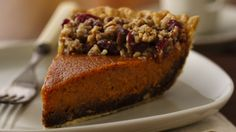 This sweet potato pie is worth the extra time it takes to make, with the delicious streusel topping and the gingersnap crust.