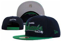 NFL Seattle Seahawks Snapback NewEra Hats Black 023 9518 only US$8.90