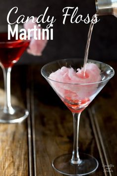 Candy Floss Martini. A delicious cocktail that adds a bit of theatre to your night! This has a mixture of tart fruit and sweet sugar. Making it a delicious…
