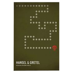 Hansel and Gretel Unframed Wall Canvas