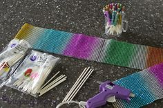 Bling cake pop sticks tutorial by the The Purple Pug: May 2013