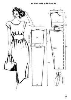 cortes de vestidos - elisa - Álbuns da web do Picasa