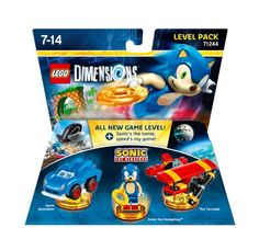 Figurine 'Lego Dimensions' - Sonic the Hedgedog - Pack Aventure : Level Pack…