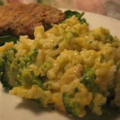 Broccoli Rice Casserole - Recipes | Riverbender.com