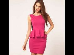 HOW TO MAKE A PEPLUM DRESS EASY - one of my favorite tutorials to date.  This girl is good!!!!