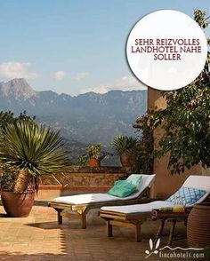 Son Bleda - Mallorca: Very charming country hotel close to Soller. Sehr reizvolles Landhotel nahe Soller.
