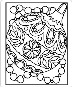 Ornament coloring page at   Crayola.com