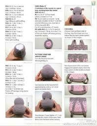 Image result for mochila de crochê infantil hipopotamo