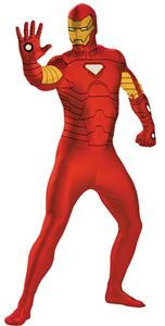 Marvel Iron Man Adult Mens Bodysuit #ironman #secondskin #halloween #halloweenlife365 #easycostumes #halloweencostumes