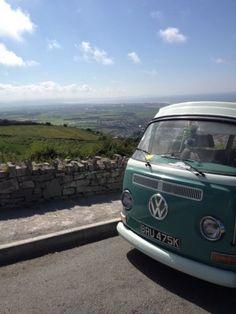 VW Camper van - could be Yorkshire