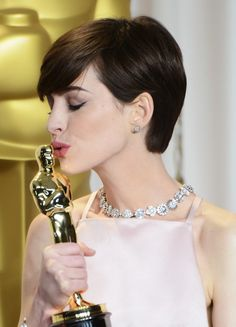 Anne Hathaway-85th Annual Academy Awards - Press Room