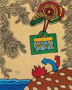 ΔΕΙΤΕ ΚΙ'ΑΛΛΑ ΕΡΓΑ ΕΔΩ (1939 Αθήνα – 1994 Αθήνα) Το ενδιαφέρον του για τη ζωγραφική εκδηλώθηκε από τα μαθητικά του χρόνια, δεν έκανε όμως ποτέ επίσημες σπουδές. Η γνωριμία του, ωστόσο, με το … School Art Projects, Art School, Greek Paintings, 10 Picture, Greek Art, Turin, Art Lessons, Contemporary Art, Illustration