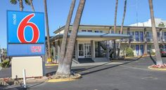 Motel 6 San Diego Airport/Harbor San Diego This hotel is only moments from San Diego International Airport and the historic Gaslamp Quarter. The pet-friendly motel offers guest rooms with free Wi-Fi and mini-refrigerators.  Motel 6 San Diego Airport/Harbor features free morning coffee.
