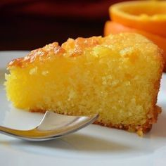 Апельсиновый пирог к чайку