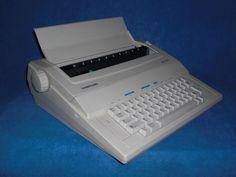 Elektronische Reiseschreibmaschine Samsung SQ 1000 electronic typewriter