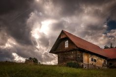 Check out Ghost House by ChristianThür Photography on Creative Market Ghost House, Mountain Homes, Architecture Photo, Cabin, Mountains, Pictures, Photos, House Styles, Creative