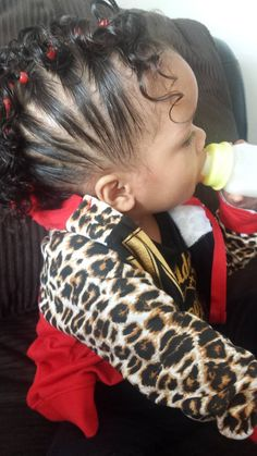 Side Twists With Curls Mixed Babies Hairstyles Miyah