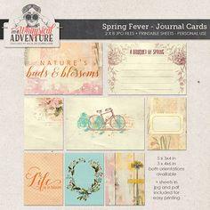 Cards Journal Cards Digital Scrapbooking Digital Download