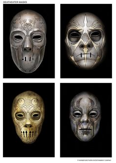 Death Eater Masks - Harry Potter