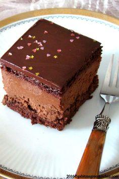Prajitura Mocha Cu Mousse De Ciocolata Si Rom Rigo Jancsi- pentru iubitorii de ciocolata