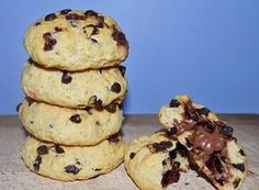 Cookies με γέμιση μερέντα!!!!! ~ ΜΑΓΕΙΡΙΚΗ ΚΑΙ ΣΥΝΤΑΓΕΣ 2