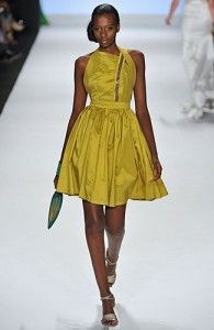 One of Korto's collection from Project Runway.