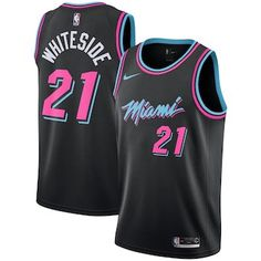 Youth Miami Heat Hassan Whiteside Nike Black 2018 19 Swingman Jersey – City  Edition   2486824cc