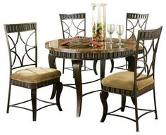 Kitchen  Dining Room Tables  Alyssa Counter Height Dining Table Impressive Hamlyn Dining Room Set Design Ideas