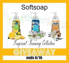 Softsoap Foaming Hand Soap GIVEAWAY Are you ready for something new from Softsoap? It is a brand that we all have trusted for years and they just keep get