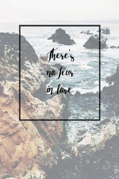 No Fear In Love - Steffany Gretzinger