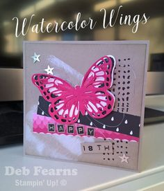 Watercolor Wings and 2016-2017 Annual Catalogue