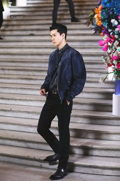 Welcome to FY-EXO, an archive of all content related to EXO. Editing fantaken data is strictly prohibited. Paris Winter Fashion, Exo 12, Exo Couple, Kim Min Seok, Suho Exo, Tv Actors, Chinese Boy, Pretty Boys, Fashion Show