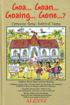 Cartoonist #Alexyz's book on Goa.