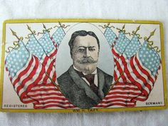 ANTIQUE WILLIAM TAFT 30 STAR FLAG LITHO SEWING SHARPS FAIR PLAY NEEDLE BOOK CASE in Antiques, Sewing (Pre-1930), Needles & Cases | eBay