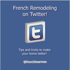 Anyone in KC that needs advice on projects follow us on twitter