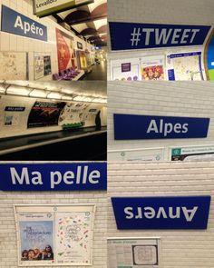 C'est une cinquantaine de stations qui ont changé de nom à Paris depuis un siècle (Pierre et Marie Curie (M7), anciennement Pierre Curie.. Picpus (M6), anciennement Saint-Mandé, Jacques Bonsergent (M5), anciennement Lancry…).