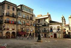 Vigo, barrio histórico. Praza da Constitución.