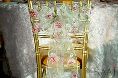 The RAAJ is introducing a new range of event decor of all different types, including chair sashes. #eventdecorations http://ow.ly/R9rJ30bWbt4