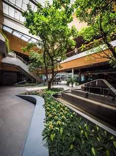 Walk of the Town, The Landscape Architecture of Groove @ Central World #bangkok #thailand #asia #retail #mixeduse #walkability #landscapearchitecture