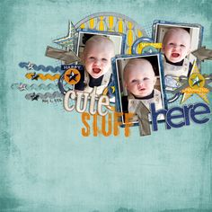 Used the following from the Sweet Shoppe Boyfriend Jeans by Scrapkitchen Designs 4 My Boys Chippy Alpha, 4 My Boys Stamped Alpha by Shawna Clingerman Arrows – Fee Jardine