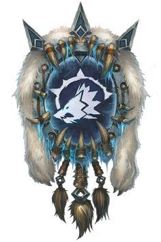 Esta insignia pertenece al clan Lobo Gelido. Su jefe es nuestro siguiente monstruo incomprendido.
